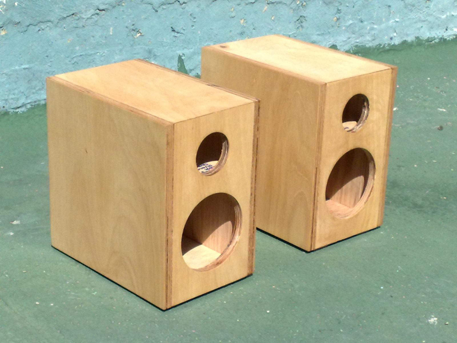 Como hacemos nuestros altavoces santiago de le n audio - Altavoces de diseno ...
